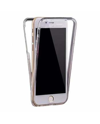 Husa din silicon 360 iPhone 6 Plus - EuroCELL