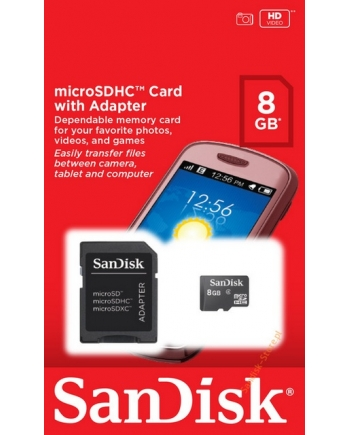 Card MicroSD 8 GB - SanDisk