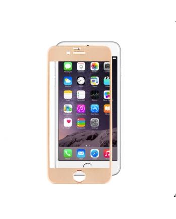 Folie sticla contur silicon iPhone 6 - EuroCELL