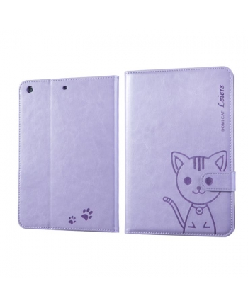 Husa flip iPad Air - Domi Cat