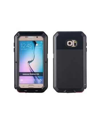 Husa metalica pentru Galaxy S6 Edge - Lunatik Extreme Protection