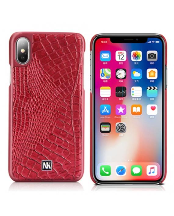nuoku croc rosu iphone x
